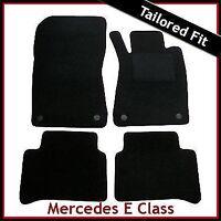 Mercedes E-Class W211 2002-2009 Tailored Carpet Floor Mats BLACK
