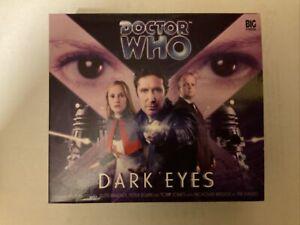 DOCTOR WHO - DARK EYES x4 CD BOXSET BIG FINISH - NEW & SEALED!