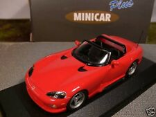 1/43 Minicar Dogde Viper ( Box gerissen) rot 30115