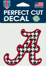 """Alabama """"Hounds Tooth"""" 4x4 Perfect Cut Decal See Description"""