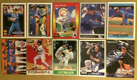 Larry Walker LOT of 10 All-star rookie gold cup & base cards NM+ 1991-1998 HOF