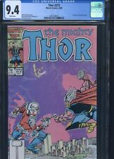 Thor #372 CGC 9.4 1st Mention of Time Variance Authority