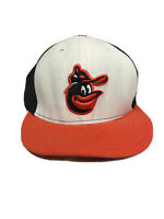 Baltimore Orioles Cooperstown Collection Baseball New Era Fitted Hat Size 7 5/8