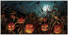 HALLOWEEN party BANNER Scene Setter Field of Screams Jack-o-Lantern  pumpkins