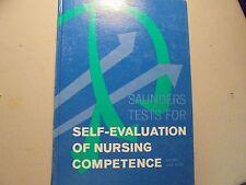 Self-Evaluation of Nursing Competence ~Sanders Tests~