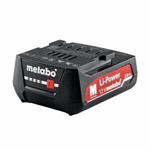 Metabo 12V Ersatzakku Akkupack 2.0 Ah