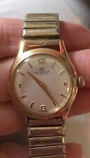 Vintage Bucherer Mens 17 Jewels Watch