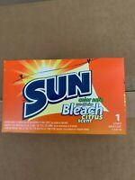 Case SUN Color Safe Powder Bleach, Vend Pack, 1 load Box, 100/Carton # 297997