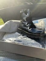 Alexander Mcqueen Combat Boots Size 39, Only Worn Once £300 SALE NO REFUND