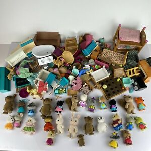 Calico Critters Figures Furniture Accessories Lot