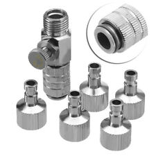 """Quick Release Spray Airbrush Hose Coupling Disconnect Adapter 1/8"""" Plug Fitting"""