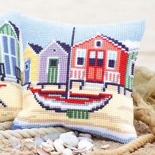 Vervaco Cross Stitch Cushion Kit: Boat