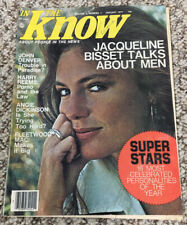 In the Know January 1977 Jacqueline Bisset John Denver Fleetwood Mac Vintage
