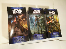 """SEALED Star Wars Miniatures - """"The Force Unleashed"""" Booster Pack (Set of 3)"""