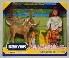 Breyer horse PONY PICNIC PLAY SET BNIB