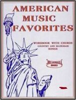 American Music Favorites: Country & Bluegrass Song Book - Word Book with Chords