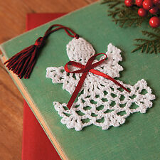 12 Cotton Crocheted Christmas Angel Bookmarks BIBLE STUDY VBS STOCKING STUFFER