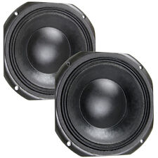 Pair Eminence Kappalite 3010LF 10 inch Neo Sub Woofer Bass Guitar 8 ohm Speaker