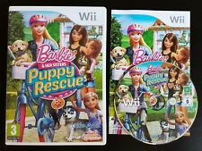 Barbie & Her Sisters: Chiot rescue-Nintendo Wii/Wii U-Gratuit, Rapide p&p!