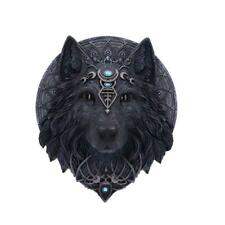 NEMESIS NOW - WOLF MOON - WALL PLAQUE 30cm FIGURINE ORNAMENT GOTHIC