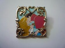Disney Sleeping Beauty Prince Phillip Heart Frame Kiss Pin Excellent Condition