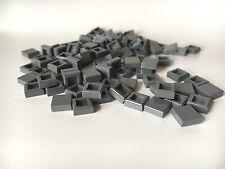 LEGO ®  100 Fliesen 1x1 in dunkelgrau ( dark bluish grey ) , NEUWARE  K62