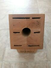 Cutco Galley 13 Knife Set Holder Wooden Block