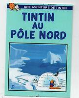 PASTICHE. Carte postale Tintin - AU POLE NORD - Hors Commerce 2016