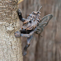 Fairy Tree Peeker Hugger Garden Ornament Tree Decoration Novelty Outdoor Figure