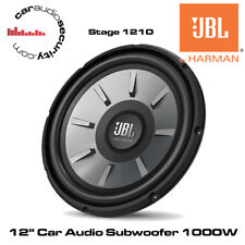 "JBL STAGE 1210 - 12"" Car Audio Subwoofer 1000W Car Sub Bass Woofer 4-Ohm Woofer"