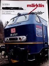 Marklin Insider Le magazine du Club Marklin n°3/2001 - Tr.21
