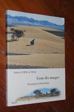 Le clézio Bruno Barbey Hommes bleus Sahara