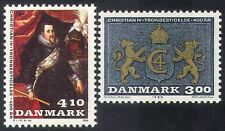 Denmark 1988 Lions/King/Royalty/Coat-of-Arms/People/Heraldry 2v set (n30095)