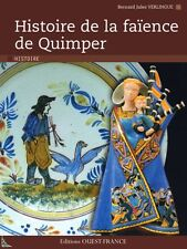 History of the Quimper pottery, French book