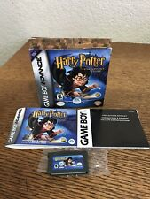 Game Boy Advance Harry Potter And The Philosopher's Stone CIB Complete