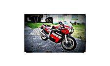 1985 gsxr 750 Bike Motorcycle A4 Retro Metal Sign Aluminium