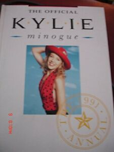 Official Kylie Minogue Annual 1991 by Fowler, Simon Paperback Book The Cheap