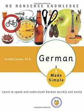 German Made Simple: Learn to Speak and Understand German Quickly and Easily-Arno