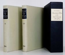 AMERICAN SILVER 2 Volumes Slipcase SIGNED Silversmith Marks Garvan Yale Art HC
