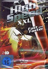 DOPPEL-DVD NEU/OVP - High Speed XXL - Fast And Faster - 6 Filme