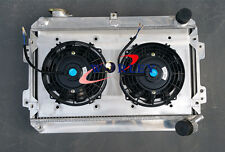 FOR 3 ROW Mazda RX7 RX-7 S1 S2 S3 1979-1985 All-Aluminum Radiator MT+SHROUD+FAN