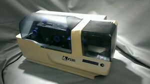 Zebra P330I Color ID Card Thermal Printer AS IS Powers On