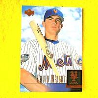 DAVID WRIGHT NEW YORK METS 2001 UPPER DECK STAR ROOKIE BASEBALL CARD 52 RC MINT