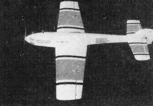 Bauplan Gottfried Sturz Nr. 7 Modellbauplan Motorflugmodell