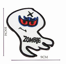 Zombie Iron on Embroidered Sew Patch Badge Patches Crafts Lot of designs  #180