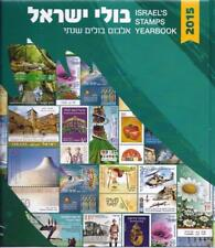 ISRAEL 2015 COMPLETE YEAR 41 STAMPS + SOUVENIR SHEET ALBUM NEW!! VF MNH
