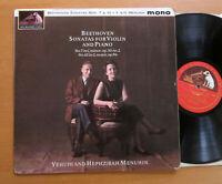 ALP 1959 Beethoven Violin Sonatas 7 & 10 Hephzibah & Yehudi Menuhin HMV Mono EX
