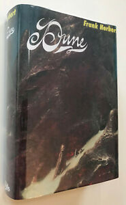 Dune by Frank Herbert, First Book Club Edition; 1965; w/ Facsimile DJ & Map!