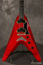 1980 Gibson Flying V2 original extremely RARE CHERRY RED SPARKLE!!!