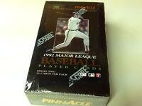 RARE 1992 Score Pinnacle MLB Player Cards Series 2 FACTORY SEALED 36pk Box